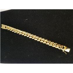 PLATED 14KT Gold Link Bracelet