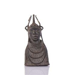 Benin Bronze Sculpture.
