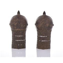 Rare 18th Century Bronze Warrior Armor