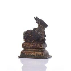 18th Century Hindu Nandi Bronze