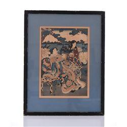 19th Century Japanese Edo Woodblock