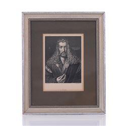Albrecht Durer, Self Portrait Etching