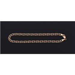 18K Gold Anchor Bracelet 0.10 oz