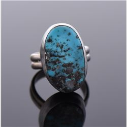 Chimney Butte, Southwest Blue Turquoise Ring