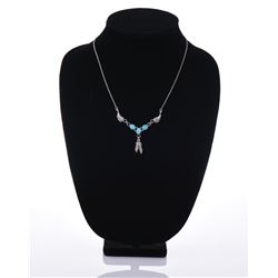 Benson Yazzie Navajo Sterling Silver Necklace