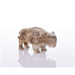 Davis, Navajo Stone Carved Buffalo
