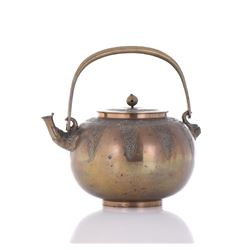 Bronze Tea Pot.