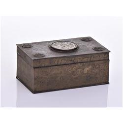 Jade Brass Box.