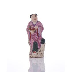 Polychromed Ceramic Sculpture