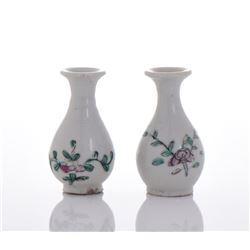 Two Porcelain Vases.