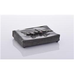 Lead Box With Multi Stone Setting.