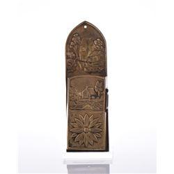 Bronze Letter Box.