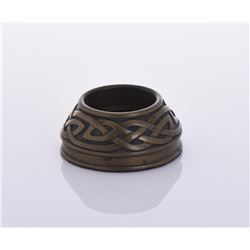 Bronze Nordic Inkwell.