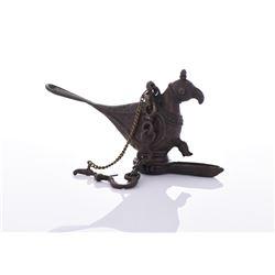 Mughal Bronze Bird Censer.