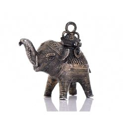 Bronze Dongria Kondh Elephant Censer
