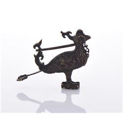 Bronze Phoenix Lock