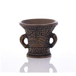 Cast Bronze Cup.
