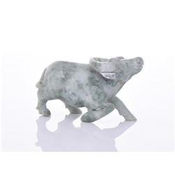 Opaque Jade Water Buffalo.