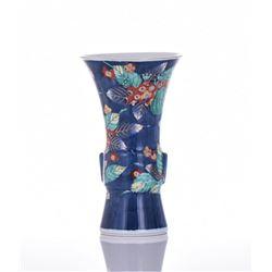 Imari Porcelain Vase, Signed on Base.