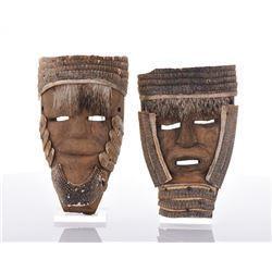 Two Huave Tribal Armadillo Mask