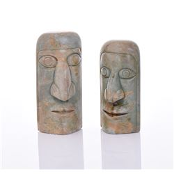 Two Tribal Stone Carvings