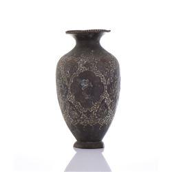 Bronze Vase.