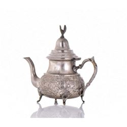 Plated Bronze Repousse Ewer.