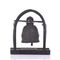 19th Century Bronze Elephant Bell.