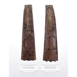 Two Copper And Brass Incense Holder.