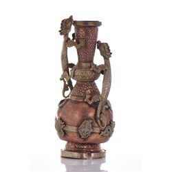 Dragon Wine Ewer of Copper And Brass.