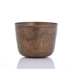 Korean Snakeskin Scaler Bronze Bowl.