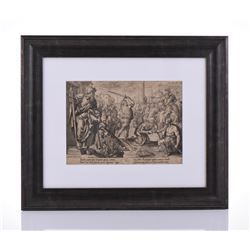 Henrick Goltzius 1588-1617, The Martyrdom