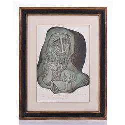 1971 Artist Proof, Illegible Signature,