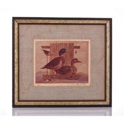 Paul Riba 1912-1977 And Nell Riba, Ducks
