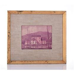 Paul Riba 1912-1977, Lake House Numbered