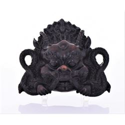 Indonesian Dragon Sculpture Made From A