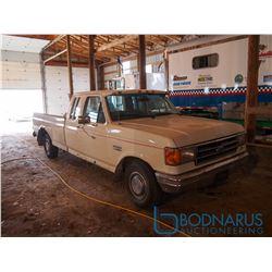 1989 F150 XLT Supercab 2WD