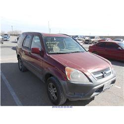 2004 - HONDA CR-V