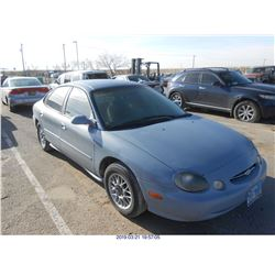 1999 - FORD TAURUS // REBUILT SALVAGE
