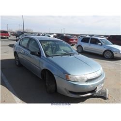 2003 - SATURN ION // PARTS ONLY