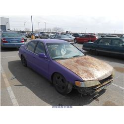 1996 - HONDA ACCORD // SALVAGE TITLE