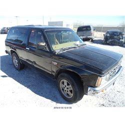 1984 - CHEVROLET S10 BLAZER
