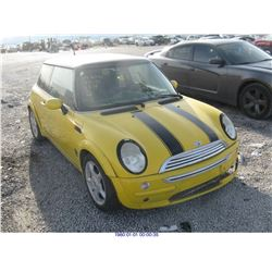 2003 - MINI COOPER// REBUILT SALVAGE