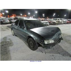 1997 - HONDA ACCORD// REBUILT SALVAGE