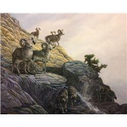 """Bruce Muir Original Artwork """"Predator and Prey"""""""