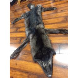 BC Trappers Association Wolf Pelt