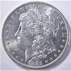 1881-O MORGAN DOLLAR, CH BU