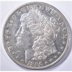 1886-S MORGAN DOLLAR, CH BU PROOF-LIKE