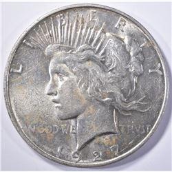 1927-D PEACE DOLLAR, BU