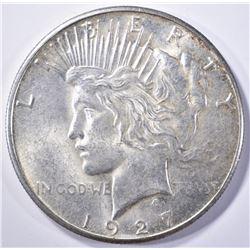 1927-S PEACE DOLLAR, BU